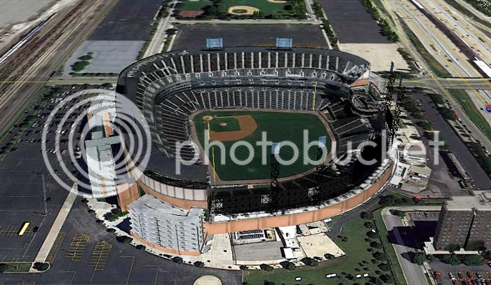 US Cellular Field (Chicago, IL); 3D model by jcoreysharp