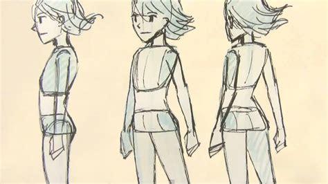 draw manga female body proportions