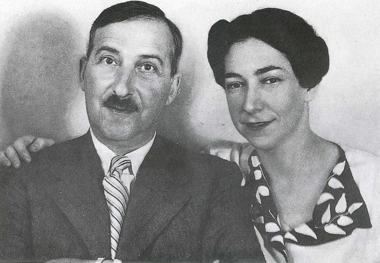 <p>Stefan y Lotte Zweig</p>
