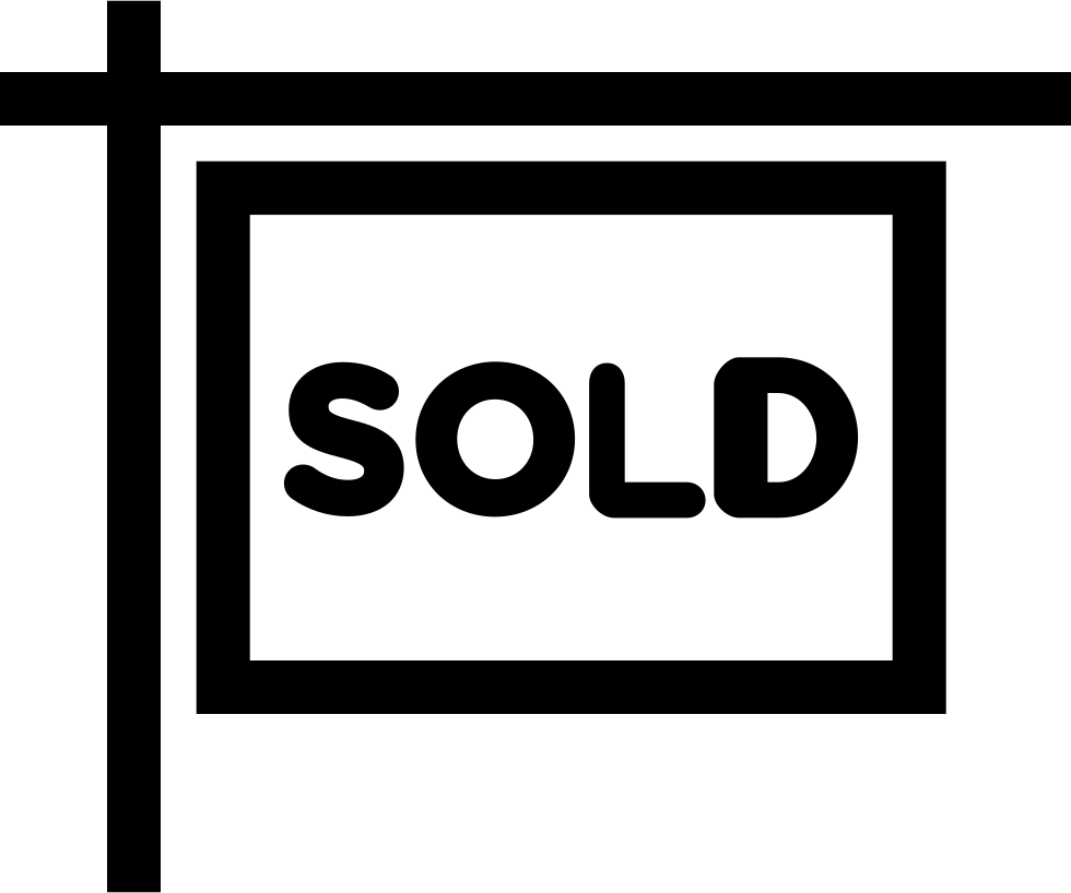 Sold Sign Svg Png Icon Free Download (#28347 ...