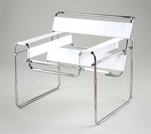 Wassily chair white