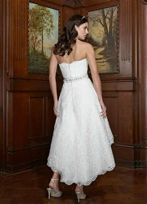 Country Western Wedding Dresses   Lace and Organza High