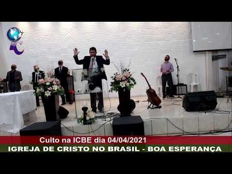 TRANSMISSÃO DO CULTO ICBE