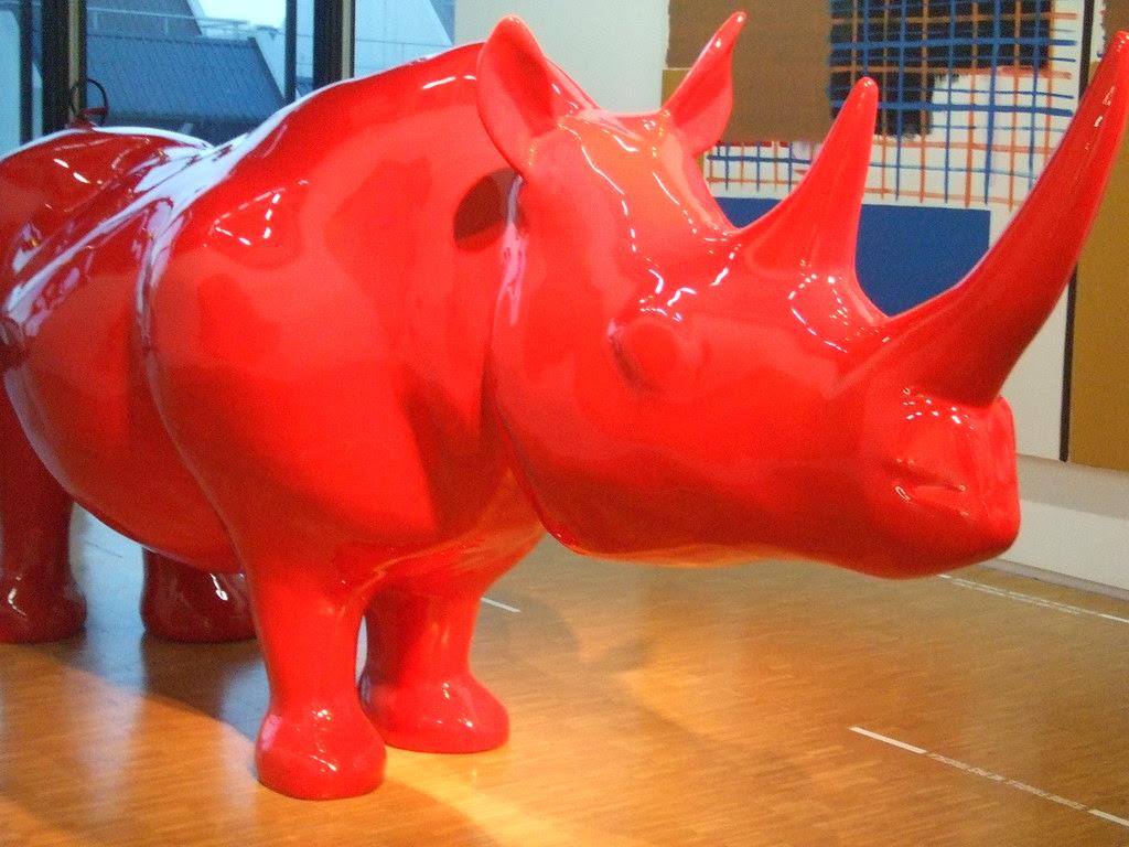 Xavier Veilhan, Le Rhinocéros, 1999
