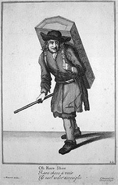 Engraving - Oh Raree Show - 1711