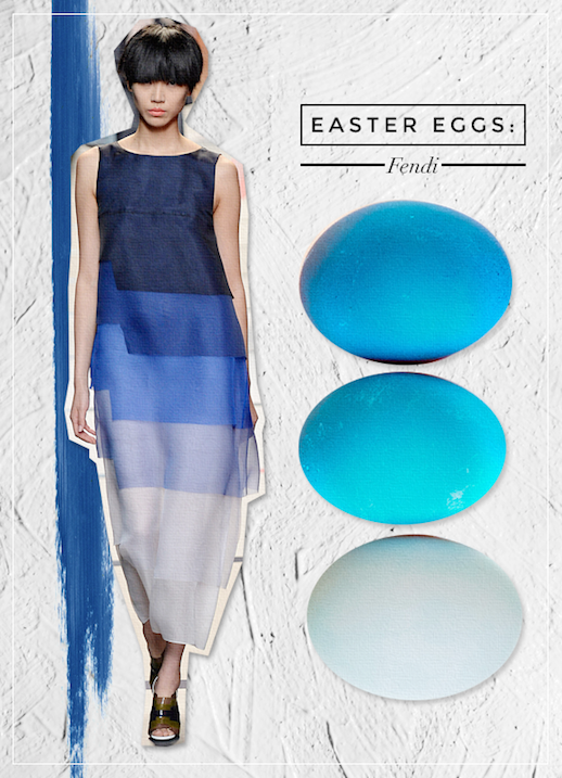 Le Fashion Blog DIY Inspiration Fashion Inspired Easter Eggs Via Style Caster Fendi Blue Ombre Tiered Column Dress Chic Style Holiday Decor Ideas  Serena Abraham Tinsel & Twine  5photo Le-Fashion-Blog-DIY-Inspiration-Fashion-Inspired-Easter-Eggs-Via-Style-Caster-Fendi-5.png