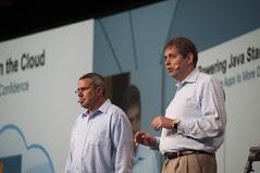 Cameron Purdy and Peter Utzschneider, Java Strategy Keynote, JavaOne 2013 San Francisco