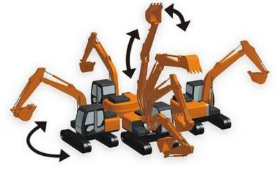 重機の作業域までわかる工事イラスト作成ツール3d工事イラストワークス
