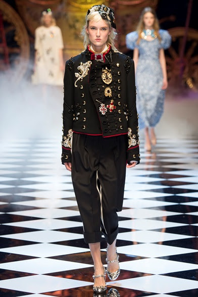 Dolce Gabbana Milano Collections Fall Winter 2016 17 Shows