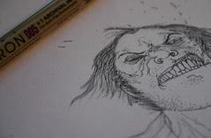 Wolvie, inking