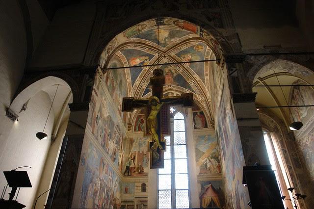 Bacci Chapel, San Francesco, Arezzo