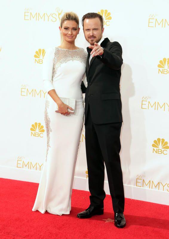 Aaron Paul & Lauren Parsekian photo 8c6433b0-2cb4-11e4-90ec-29c9129bb37c_Aaron-Paul-Lauren-Paesekian-2014-Primetime-Emmy-Awards.jpg