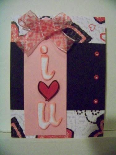 I Love You Card - Feb 12 Recipe