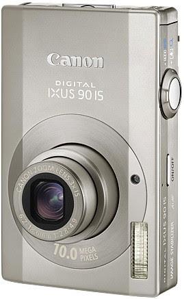 Canon Digital IXUS 90 IS digital camera - Review