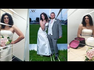 Noiva contrata drag queen para fazer pegadinha em cerimônia de casamento