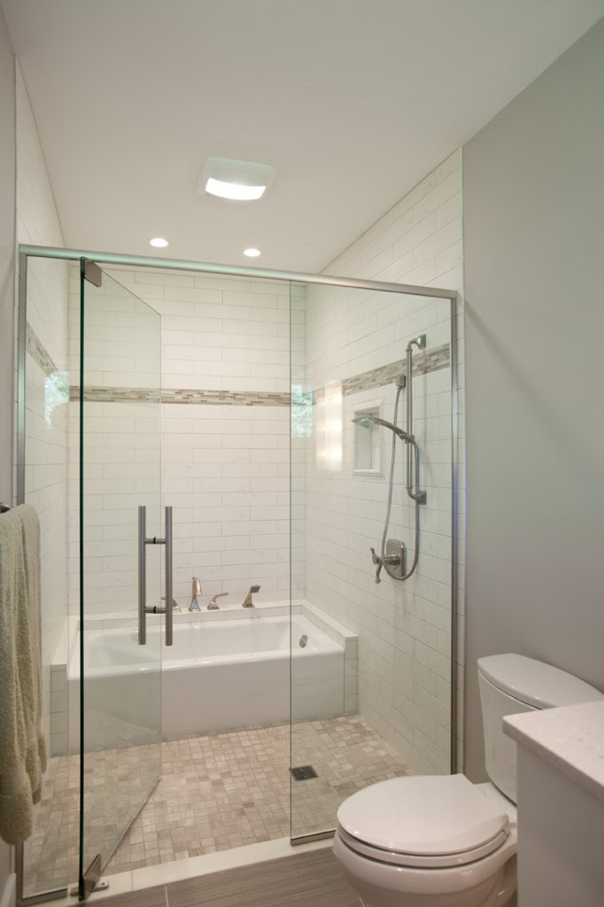 Greene County Master and Guest Bathrooms | Nest Designs LLC