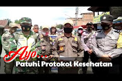 Video Razia Masker di Pasar Sungai Bengkal
