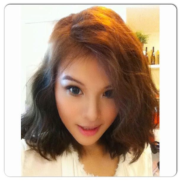 This hairstyle is the reason I cut it shorter. Using tsuyagla wave created by Popteen star Kumiko Funayama. #kumikofunayama #kumicky #kumiko #japan #japanese #fashion #lotd