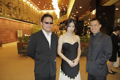 With Vivian Hsu, before the Green Carpet event 2