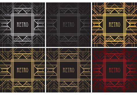 Roaring 20's Vector Templates   Download Free Vector Art