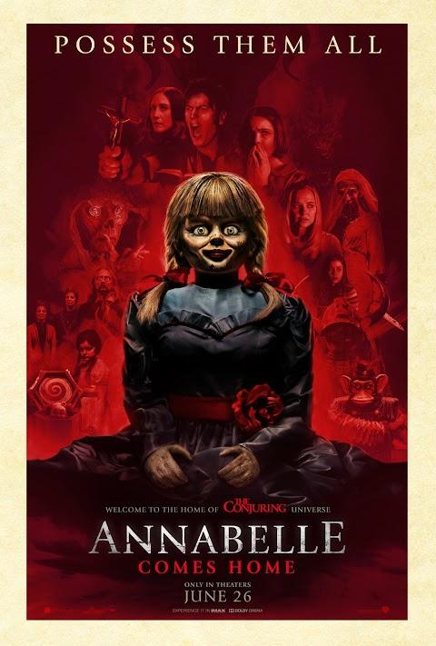 Annabelle Comes Home (2019) 480p 720p 1080p BluRay Dual Audio (Hindi+English) Full Movie