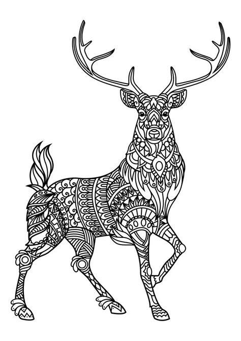 animal coloring pages  mandala art zentangles
