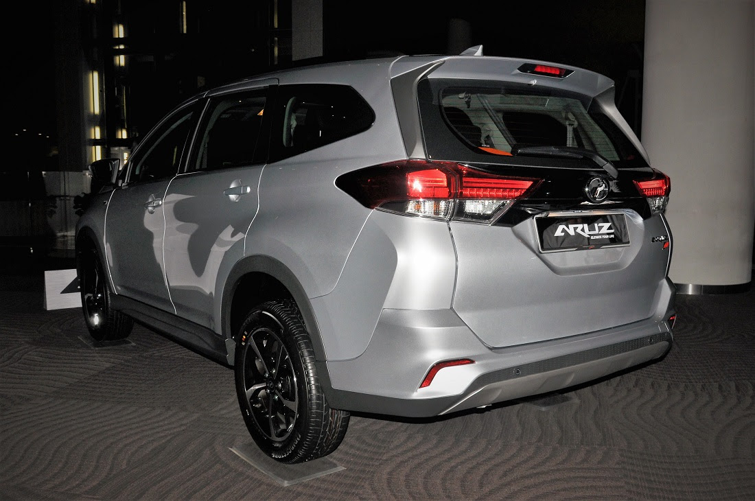 Perodua Aruz 7-Seater SUV Officially Launched In Malaysia