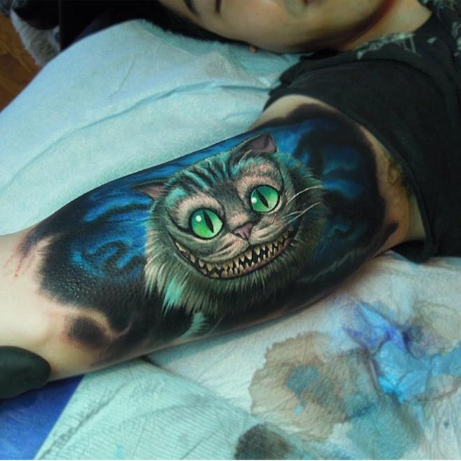 Cheshire Cat Tattoo Best Tattoo Design Ideas