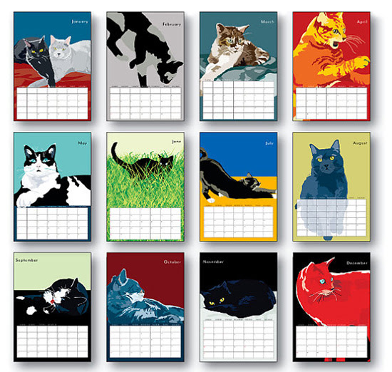 Enter to Win a 2014 Wall Calendar from Animals in Color — hauspanther