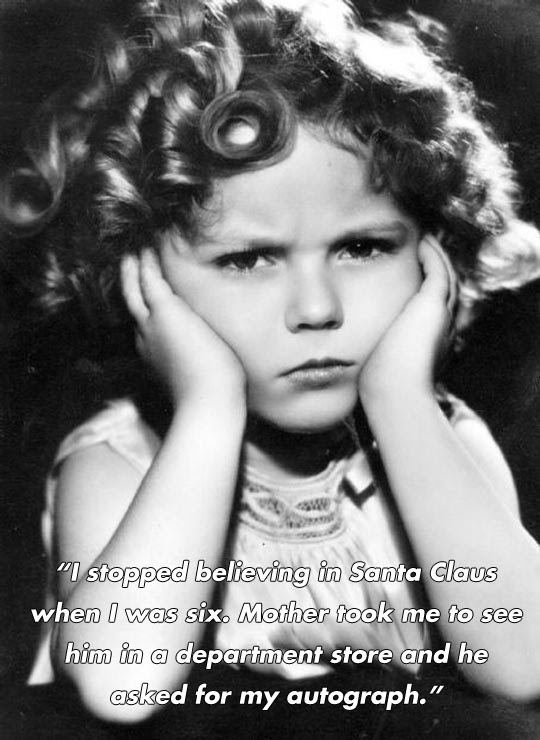 Funny And Inspirational Quotes By Shirley Temple