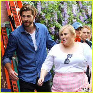 Liam Hemsworth & Rebel Wilson Start Filming 'Isn't It Romantic' in New York!