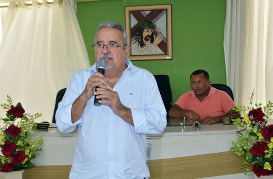 O prefeito dew Queimadas André Andrade | Foto: Notícias de Santaluz