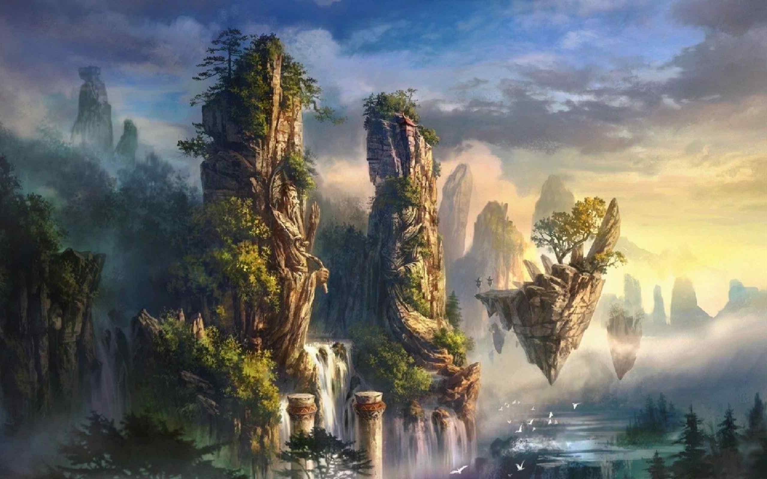 Fantasy World Background, High Quality Fantasy World ...