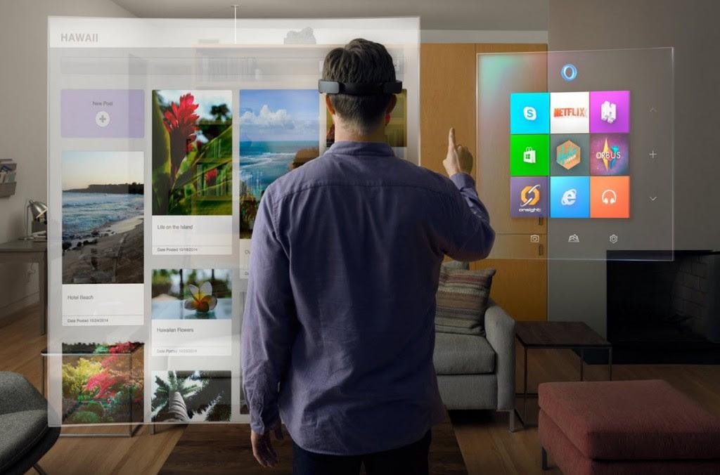 Sabe o que é o Microsoft HoloLens?