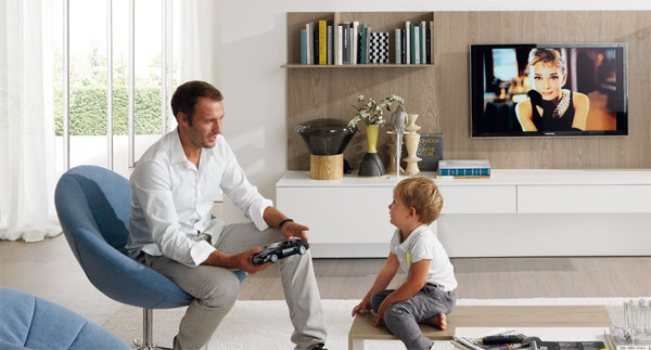 Simple And Modern Living Room Design For Young Family ...