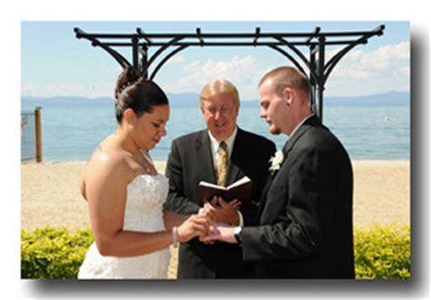 Lake Tahoe Wedding Ministers   Pastors in Lake Tahoe