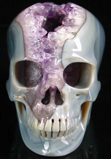 Geode skull.
