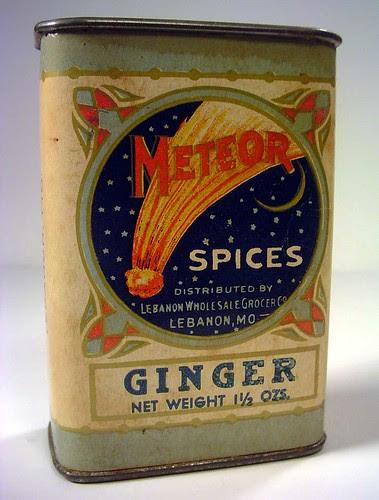 Meteor Spice Tin