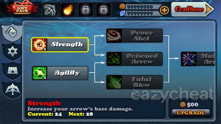 Defender II v1.4.5 Cheats