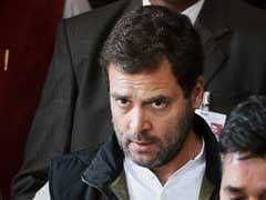 Rahul Gandhi Slams BJP Over Poll Qualification Norms In Haryana, Rajasthan