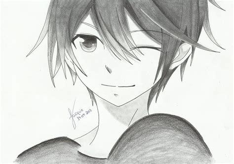 easy  draw anime boy pixbimcom anime anime cute