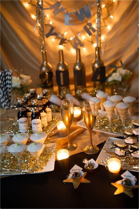 Festive New Year's eve party decoration idea that you will