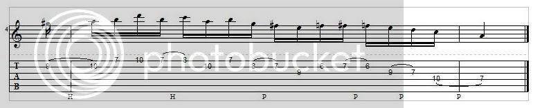 Chromatic Passing Tones 03