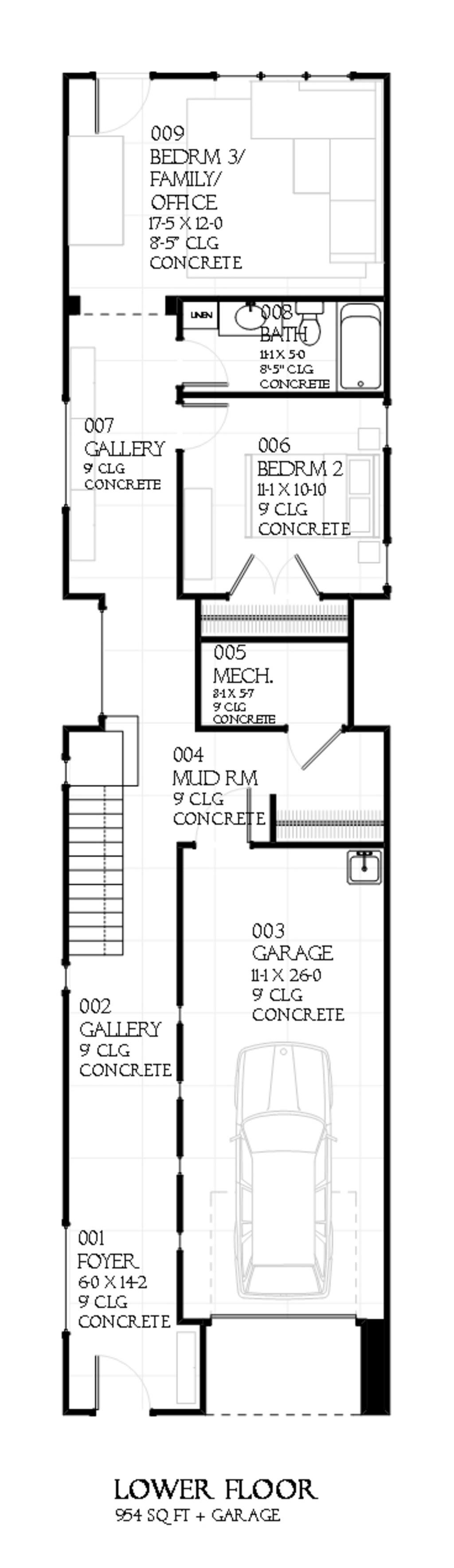 Narrow Home Plans - Home and Aplliances