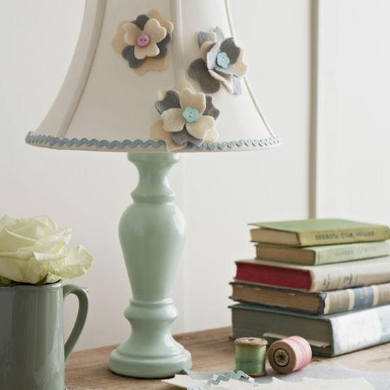 Decorative living room lamp   Living room design idea   Hamdmade lampshade   Image   Housetohome