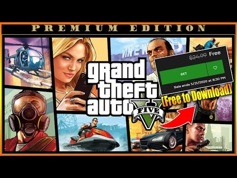 GTA 5 Premium Edition Epic Game Store Download & Play (Free to Download)