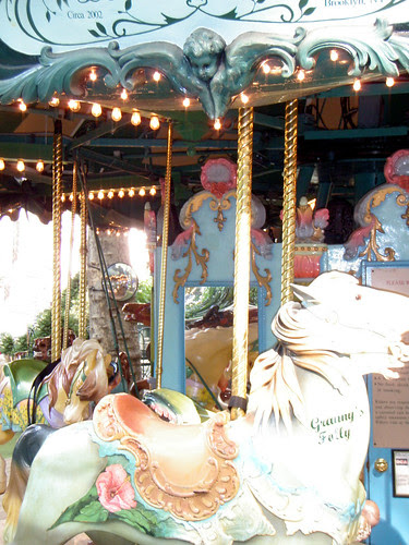 Bryant Park Carousel! 7