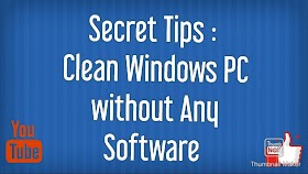 How to Clean Your Windows PC Without Cleaner (My Secret Trick)