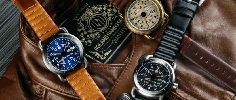 Time Concepts Releases New ICON Signature Series Watch Inspired by  American Motorcycle Legend, Roland Sands