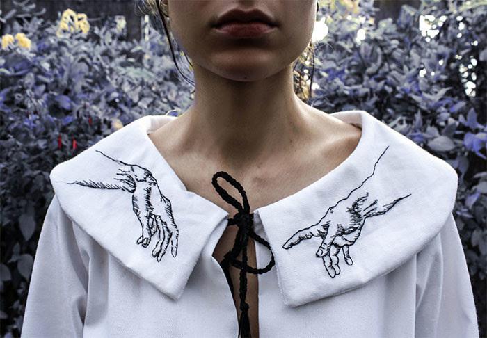 80 оригинальных воротников, которые преобразят любой образ воротник, идея, мода